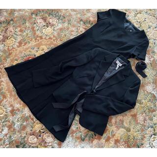 アンドレルチアーノ(ANDRE LUCIANO)のアンドレルチアーノ セレモニースーツ ワンピース ロング丈 冠婚葬祭 黒 礼服(礼服/喪服)