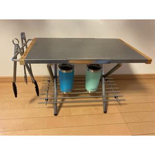 ユニフレーム(UNIFLAME)のさや様用 ユニフレーム 焚き火テーブル カスタムパーツセット(アウトドアテーブル)