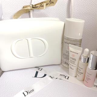 Dior - ディオール スノー コフレ ポーチ セット ホワイト