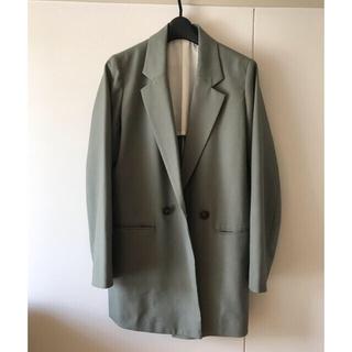 アパートバイローリーズ(apart by lowrys)のテーラード ジャケット 灰緑色 アパートバイローリーズ(テーラードジャケット)