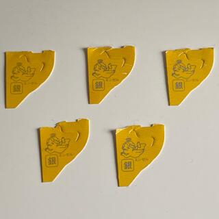 モリナガセイカ(森永製菓)の銀のエンゼル5枚(ノベルティグッズ)
