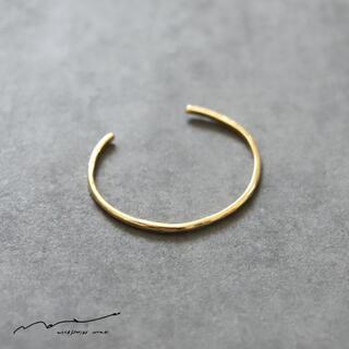 ミナペルホネン(mina perhonen)の新品未使用 accessories mau (アクセサリー マウ) 細 ブレス(ブレスレット/バングル)