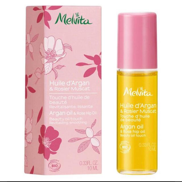 Melvita(メルヴィータ)の新品未使用 ビオオイル ローズ&アルガン タッチオイル 10ml コスメ/美容のスキンケア/基礎化粧品(美容液)の商品写真
