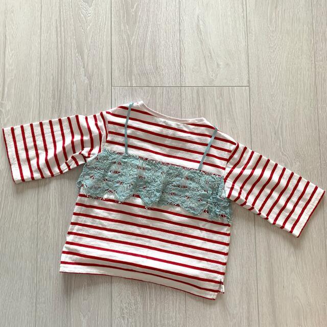 MARKEY'S(マーキーズ)のマーキーズ カットソー キッズ/ベビー/マタニティのキッズ服女の子用(90cm~)(Tシャツ/カットソー)の商品写真