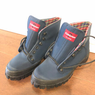 Caravan - 【未着用】caravan登山靴 24.0cm ネイビー