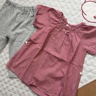 ムジルシリョウヒン(MUJI (無印良品))の無印良品 半袖 パジャマ 100(パジャマ)
