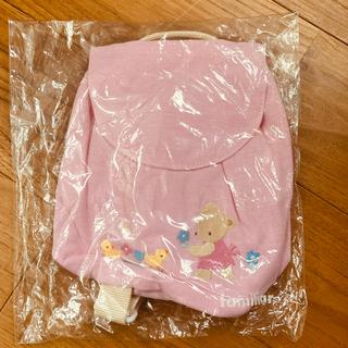 familiar - familiar ファミリア リュック ベビー ピンク 女の子 ガール かわいい