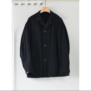 COMOLI - COMOLI デニム ワークジャケット ブラック サイズ1