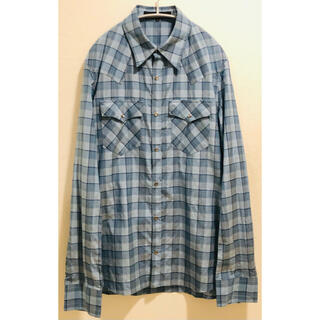 アタッチメント(ATTACHIMENT)のAttachment Silk mix Shirts(シャツ)