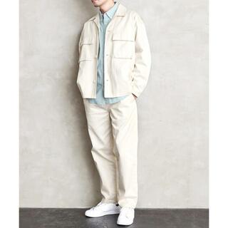 フリークスストア(FREAK'S STORE)のLoungewear Tokyo CPOダブルポケットシャツ セットアップ(セットアップ)