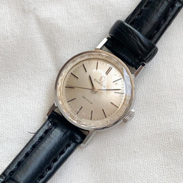 OMEGA(オメガ)の【稼働品】オメガ デビル カットガラス アンティーク腕時計 レディースのファッション小物(腕時計)の商品写真
