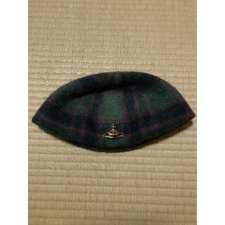 ヴィヴィアンウエストウッド(Vivienne Westwood)のベレー帽 ヴィヴィアンウエストウッド (ハンチング/ベレー帽)