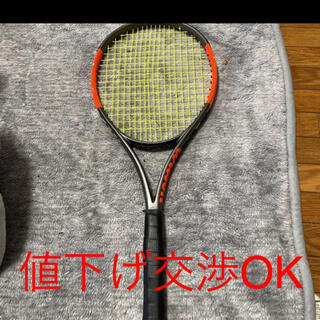 ウィルソン(wilson)のウィルソン バーン100lsテニスラケット ゆうさん専用(ラケット)