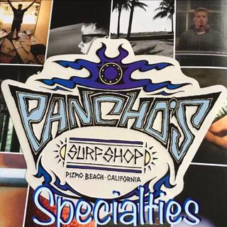 ヴァンズ(VANS)のPANCHOSパンチョズ ピスモBEACH限定サーフショップ ステッカー1点物(サーフィン)