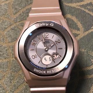 ベビージー(Baby-G)のカシオ Baby-G  電波時計 美品(腕時計)