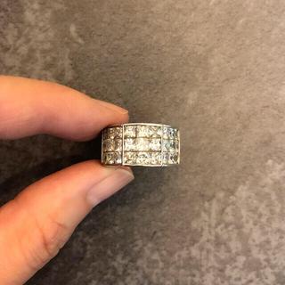 アヴァランチ(AVALANCHE)のアバランチ AVALANCHE K10 ホワイトゴールド リング(リング(指輪))