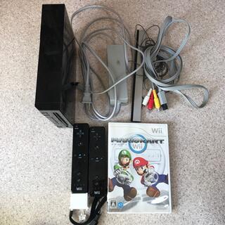 Wii - wii 本体➕リコントローラー2個➕マリオカートset☆