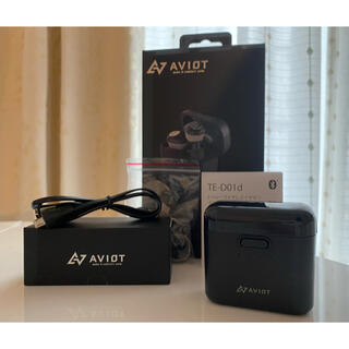 アヴォイド(Avoid)のTE-D01d AVOIT Bluetoothイヤホン ブラック(ヘッドフォン/イヤフォン)