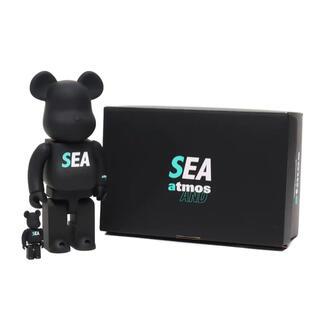 アトモス(atmos)のベアブリック アトモス WIND AND SEA 100% & 400%(その他)