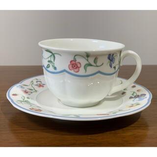 ビレロイアンドボッホ(ビレロイ&ボッホ)の値下げしましたVileroy&Bochのコーヒーカップとソーサー(食器)