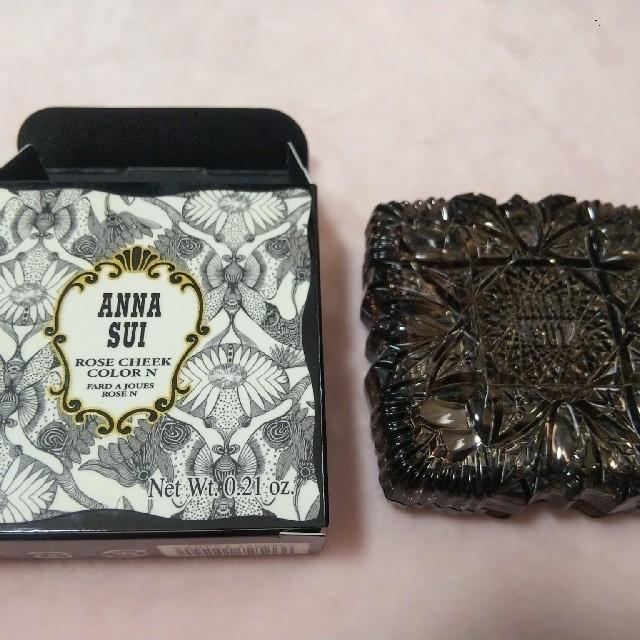 ANNA SUI(アナスイ)のアナスイ ローズチークカラー N 100 コスメ/美容のベースメイク/化粧品(チーク)の商品写真