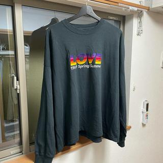 SUNSEA - DAIRIKU 21SS love 刺繍 long T shirts