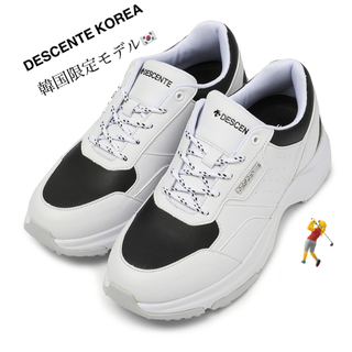 デサント(DESCENTE)のDESCENTE 日本未発売❣️韓国限定 25.5センチ ゴルフシューズ(シューズ)