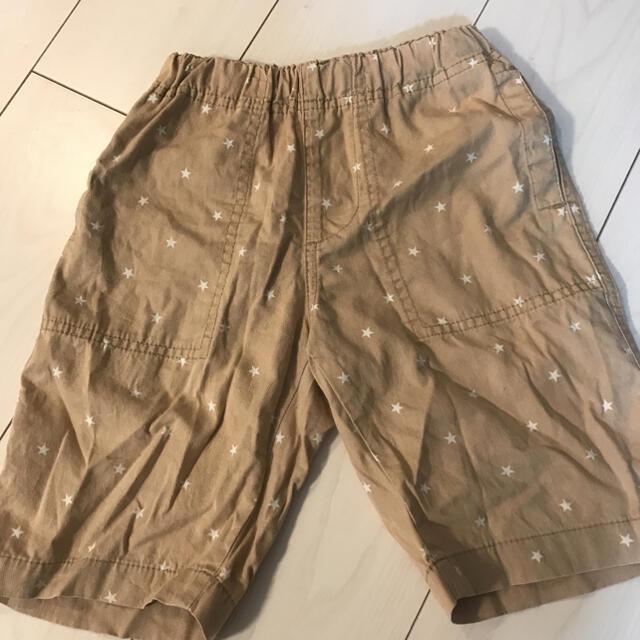 GU(ジーユー)のGUキッズ ハーフパンツ120サイズ キッズ/ベビー/マタニティのキッズ服男の子用(90cm~)(パンツ/スパッツ)の商品写真