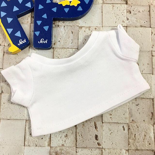 防弾少年団(BTS)(ボウダンショウネンダン)の20cm ぬいぐるみ用 バッグ 服 洋服 Tシャツ bts nct exo FP エンタメ/ホビーのおもちゃ/ぬいぐるみ(ぬいぐるみ)の商品写真