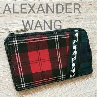 アレキサンダーワン(Alexander Wang)のALEXANDER WANGカーフレザー カード入れ コインケース(コインケース/小銭入れ)