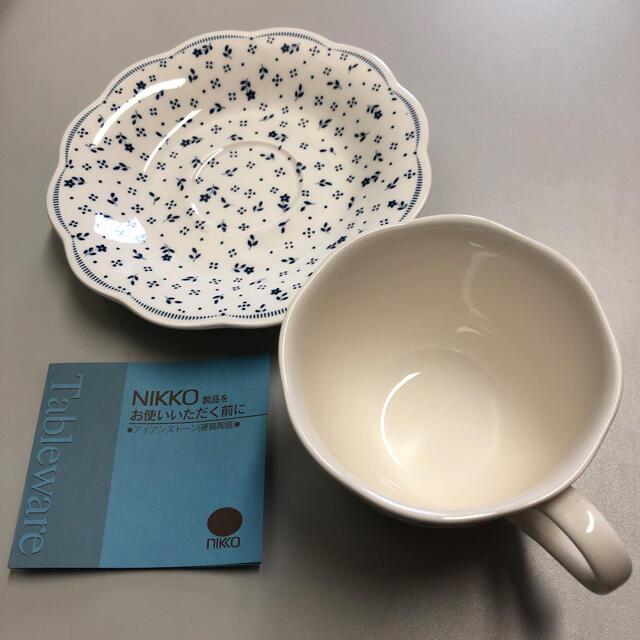 NIKKO(ニッコー)の【未使用】NIKKOコテージガーデンシリーズ カップ&ソーサー5客セット インテリア/住まい/日用品のキッチン/食器(グラス/カップ)の商品写真