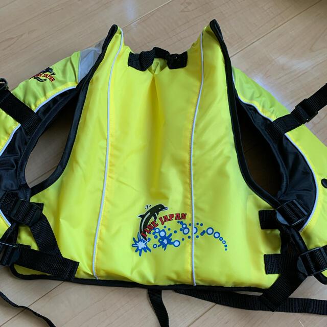 ライフジャケット 子供用 M(100〜120) スポーツ/アウトドアのスポーツ/アウトドア その他(マリン/スイミング)の商品写真