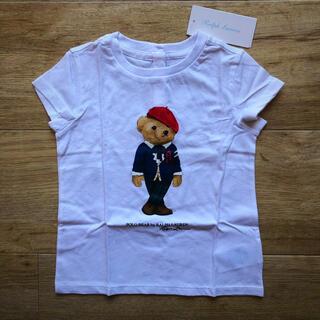 ラルフローレン(Ralph Lauren)のラルフローレン ベビー 女の子 ガールズ Tシャツ 白 ポロベア (Tシャツ/カットソー)