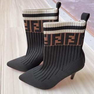 ブーツヒール★22.5cm(ハイヒール/パンプス)