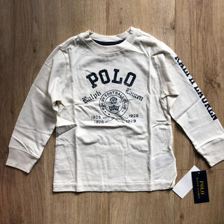 ラルフローレン(Ralph Lauren)のラルフローレン キッズ ボーイズ ロンT 100 長袖 Tシャツ 白 子供服(Tシャツ/カットソー)