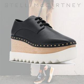 ステラマッカートニー(Stella McCartney)のスタッズエリスシューズ 22cm(ローファー/革靴)