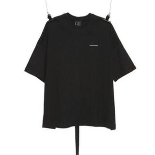 PEACEMINUSONE - PMO COTTON T-SHIRT #1 BLACK
