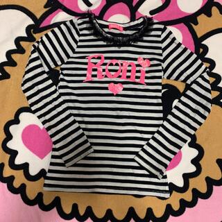 ロニィ(RONI)のRONI♡ロンT  ボーダー(Tシャツ/カットソー)