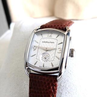 ハミルトン(Hamilton)のHAMILTON ハミルトン 時計 バグリー レディース(腕時計)