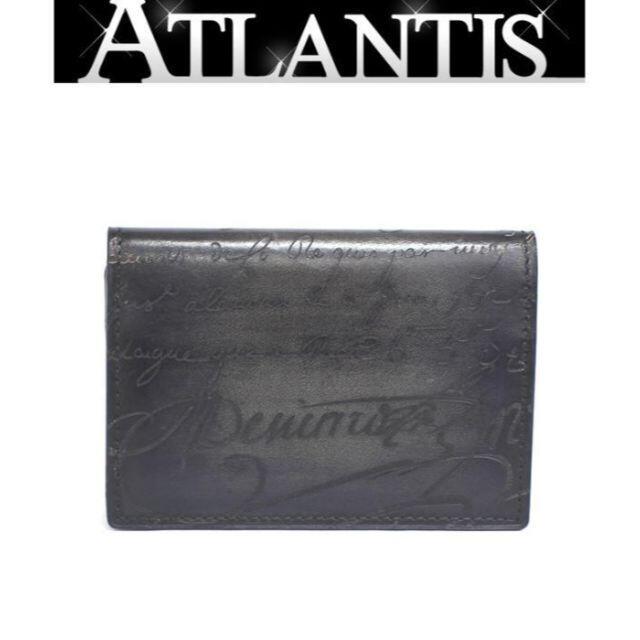 Berluti(ベルルッティ)のベルルッティ 二つ折り カードケース カリグラフィ 【53153】 メンズのファッション小物(名刺入れ/定期入れ)の商品写真