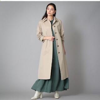 サンヨー(SANYO)のサンヨー コート シルク混バルマカーン(ステンカラー)コート(ロングコート)