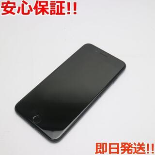 アイフォーン(iPhone)の美品 SIMフリー iPhone7 PLUS 32GB ブラック (スマートフォン本体)