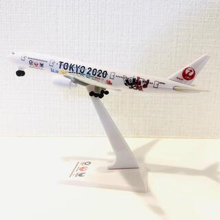 ジャル(ニホンコウクウ)(JAL(日本航空))のJAL 非売品 飛行機 プラモデル フィギュア オリンピックデザイン(航空機)