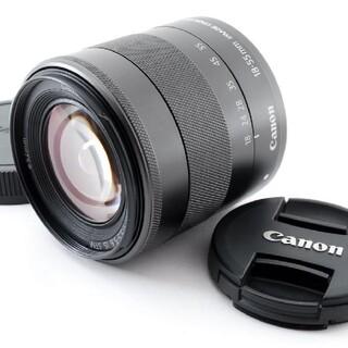 キヤノン(Canon)の【新品級】Canon キャノン EF-M 18-55mm F4-5.6 IS S(レンズ(ズーム))