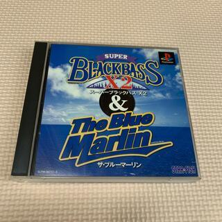 プレイステーション(PlayStation)のスーパーブラックバスX2&ザ・ブルーマーリン(家庭用ゲームソフト)