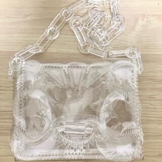 マメ(mame)のMame Vinyl Chloride Long Chain Bag CLEAR(ショルダーバッグ)