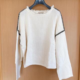 トゥデイフル(TODAYFUL)のtodayful stitch tops(カットソー(長袖/七分))