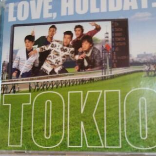 LOVE,HOLIDAY.(初回限定盤) トキオ TOKIO CD特典DVD付