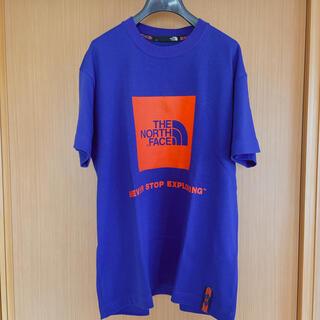 ザノースフェイス(THE NORTH FACE)のthe north face blue x orange T shirt(Tシャツ/カットソー(半袖/袖なし))