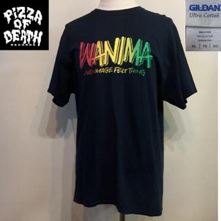 ワニマ(WANIMA)のPizza of death WANIMワニマ◆Tシャツ TEE◆ブラック XL(Tシャツ/カットソー(半袖/袖なし))